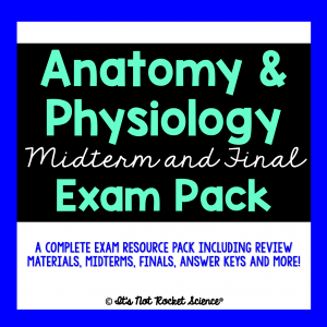 Anatomy and Physiology Exams