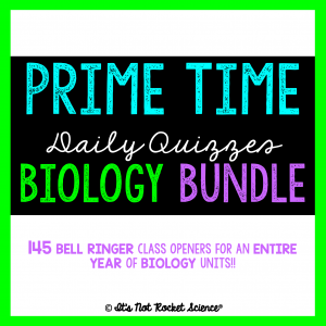 Biology Bell Ringers